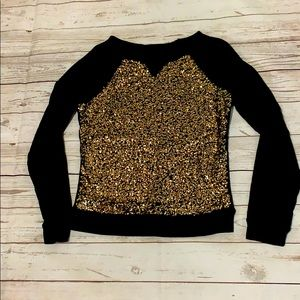 Limited sequined sweater size XS
